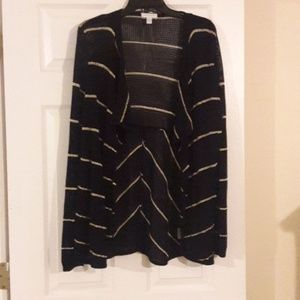 Charter Club woman's XL black and gold sweater